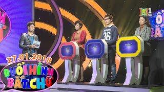 Đuổi hình bắt chữ | 27.01.2018 | DHBC | Duoi hinh bat chu | MC Xuân Bắc