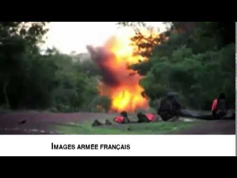 Opération Sangaris - French troops combat footage