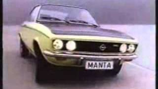 Werbung : Opel Manta A   -   Video ...............Oeni