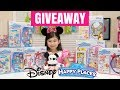 HUGE GIVEAWAY Disney Happy Places Belle Townhouse Cinderella Minnie Mouse Home Decors Books Shopkins