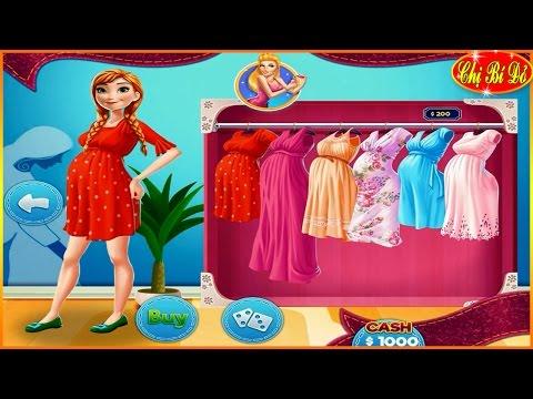 Chị bí đỏ chọn đồ bầu cho công chúa Anna - Trò chơi hoạt hình công chúa Disney
