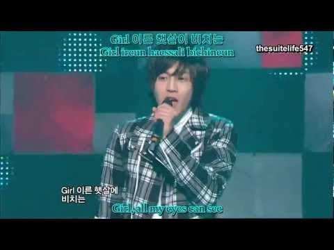 SS501 - Snow Prince [Live] (Hangul, Romanization, Eng Sub)