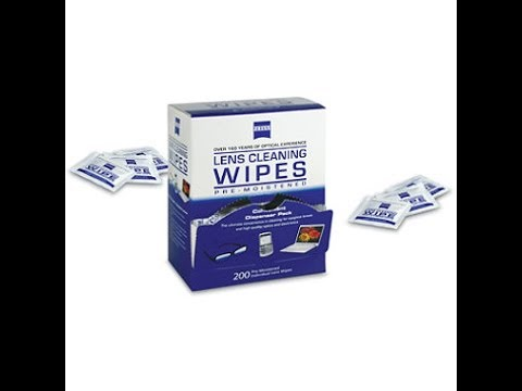 Zeiss Lens Cleaning Wipes Review