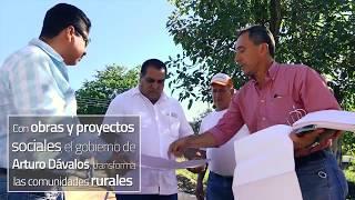 RECORRIDO CALLES Y PISO FIRME SANTA CRUZ DE QUELITAN