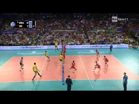 Volleyball Final Six Iran - Brazil Florence 2014
