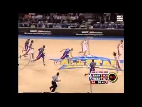 Žydrūnas Ilgauskas 12 points in 2005 All Star Game Full Highlights (2005.02.20)