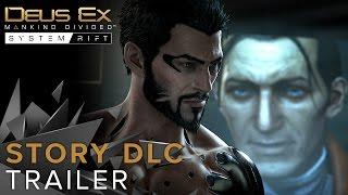Deus Ex: Mankind Divided - System Rift Sztori DLC Trailer