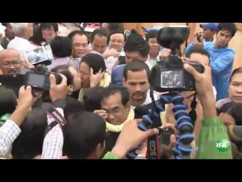 CNRP Parliamentarians Are Released from Prison