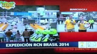 Expedición RCN Brasil 2014