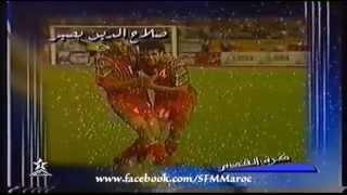 صلاح الدين بصير اسطورة الكرة المغربية في فيديو نادر