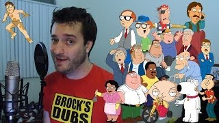 18 Family Guy Impressions in 3 Minutes