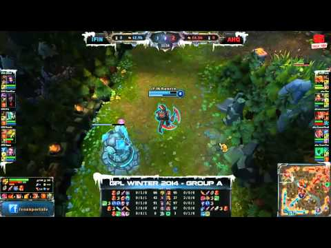 [GPL 2014 Mùa Đông] [Tuần 2] [Bảng A] Team Infinite vs AHQ e-Sports Club [08.11.2013]