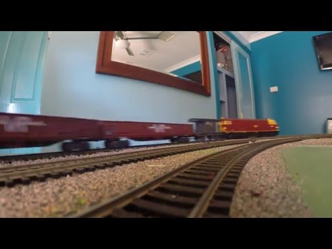GoPro Model Railway - Trainorama NSW 44 class 4432 - 19/07/2014
