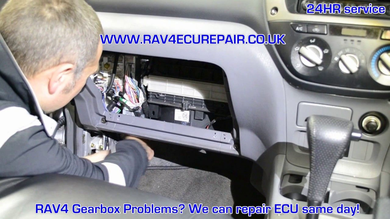 Toyota RAV4 Service Manual: Terminals of ecu