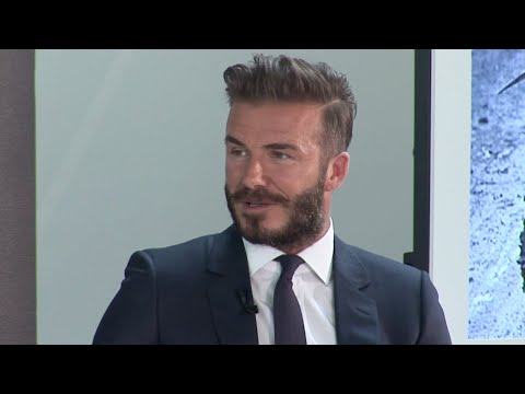David Beckham Q&A with Michael Palin - Into the Unknown - Brazil - BBCWorldwide