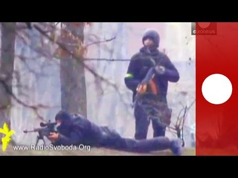 Video shows evidence of snipers firing at protesters in Kiev
