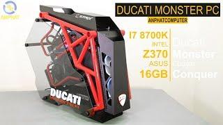 DUCATI PC 100 triệu - Bộ máy lấy cảm hứng từ siêu xe phân khối lớn | ANPHATCOMPUTER