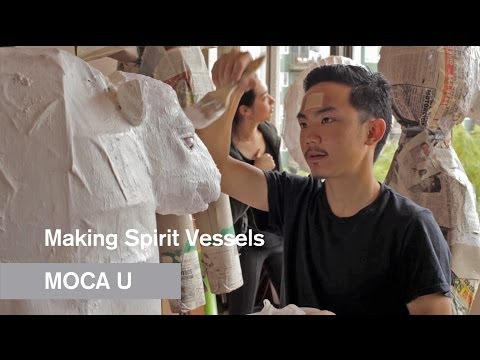 Making Spirit Vessels - The MOCA and Louis Vuitton Young Arts Program - MOCA U - MOCAtv