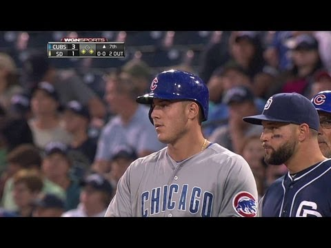 CHC@SD: Rizzo plates Barney with a single to center