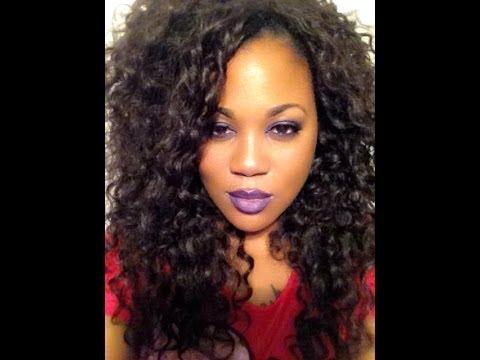 Equal Double Weave Beach Curl hair full sewin