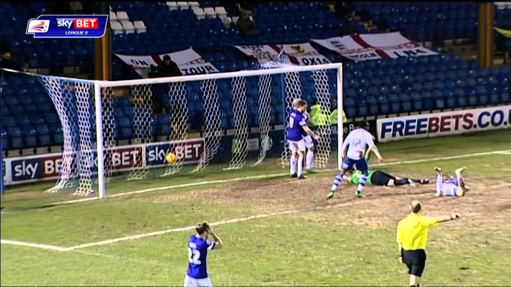 Bury 1-1 Oxford United