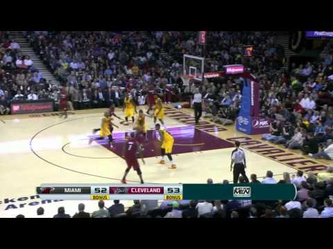 Miami Heat vs Cleveland Cavaliers | March 18, 2014 | NBA 2013-14 Season