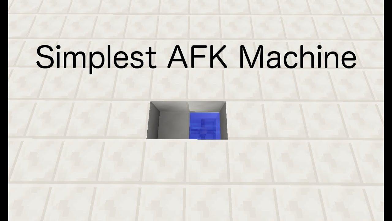 afk machine in minecraft