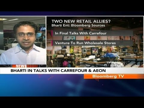 Newsroom- Bharti In Talks With Carrefour & Aeon