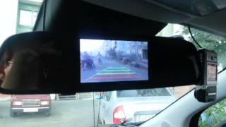 """4.3"""" TFT LCD Car Monitor/Mirror Rearview + 2.4G Wireless"""