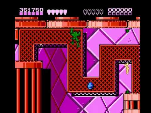 Battletoads & Double Dragon - Battletoads  and  Double Dragon (NES) - User video