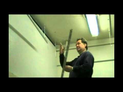 Sequancage montage polypanel plafond suspendu