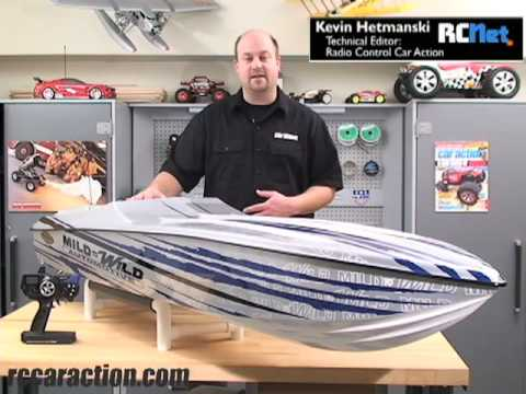 Huge RC Twin Gas Engine Boat!