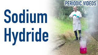 Sodium Hydride in Slow Motion: Periodic Table of Videos