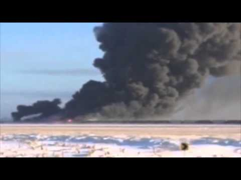 North Dakota oil train crash sparks fireball   World news   The Guardian
