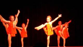 Sunny 8 Year Old Jazz Dancers