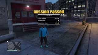 Grand Theft Auto V (GTA 5) ➽ Mission #30 ✮ Boiler Suits ✮ 100% Gold Medal Walkthrough