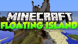 Minecraft Best Seeds - HUGE FLOATING ISLAND | 1.7.2 (HD)