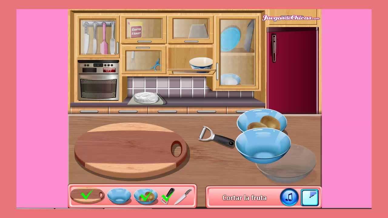 Juegos de cocina con sara tarta pavlova youtube - Juegos de cocina con sara paella ...