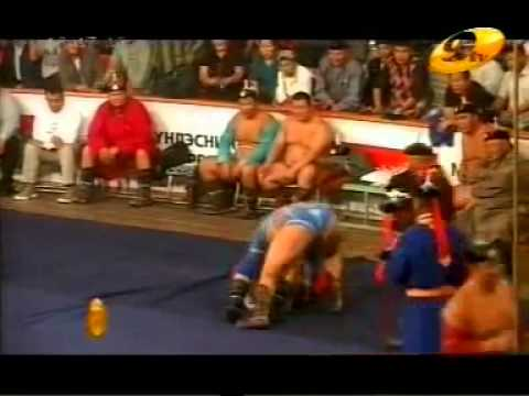 Монгол бөх 6002   Guinness World Record, Mongolian wrestling  6002 participants