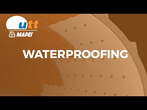 Waterproofing of tunnels - UTT Mapei