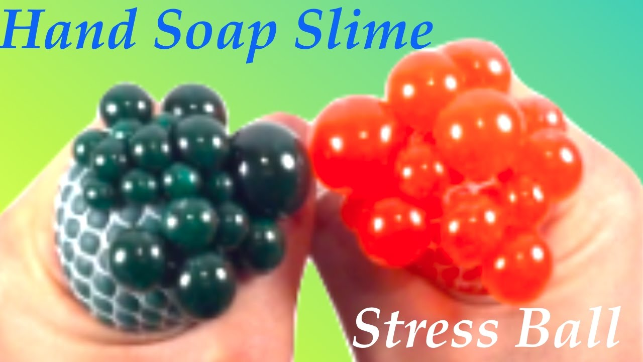 Liquid Starch By Howtomake 272 Views Diy Stress Ball With Hand Soap Slime!!  How How To Make Slime Without Borax