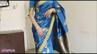 How To Wear South Indian Saree/2 States South Sari Wearing