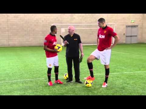 DHL TRICK CHALLENGE WITH PATRICE EVRA & CHRIS SMALLING