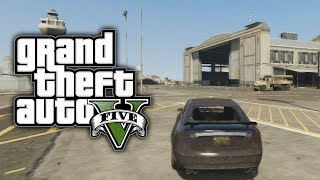 GTA 5: GET IN THE MILITARY BASE WITH NO STARS ONLINE (GTA