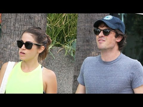Ian Somerhalder & Nikki Reed Dating?!
