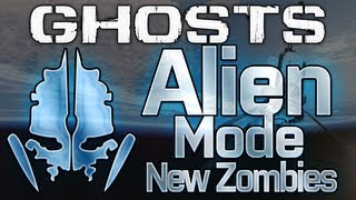 Call Of Duty: Ghosts ALIENS Mode! New Zombies