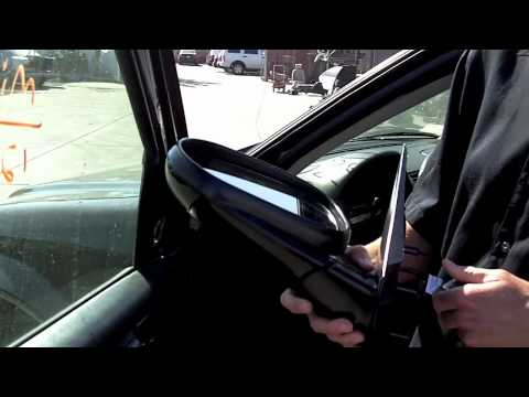 tutorial 3 how to replace a side mirror youtube. Black Bedroom Furniture Sets. Home Design Ideas