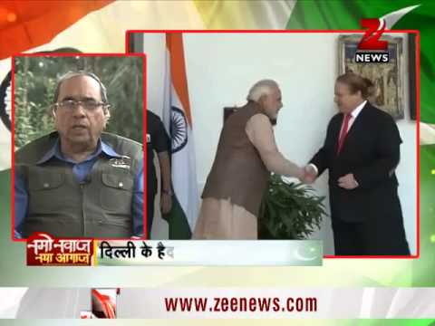 Nawaz Sharif holds meeting with Narendra Modi, to address media shortly