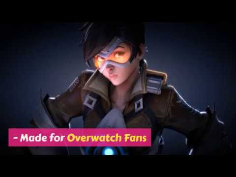 Overwatch Tracer Live Video Wallpapers For Android Phones
