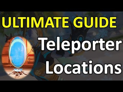Ultimate Symmetra Teleporter Placement (Overwatch Guide)